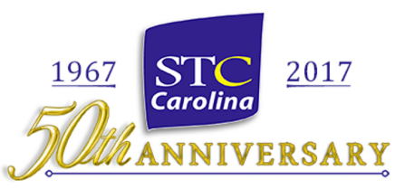 STC Carolina 50th Anniversary Party banner
